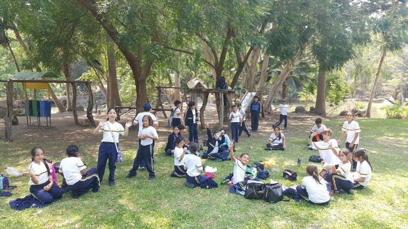 Visita al jard n bot nico leonardo da vinci for Actividades jardin botanico 2016